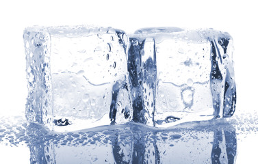 Pair of ice cubes