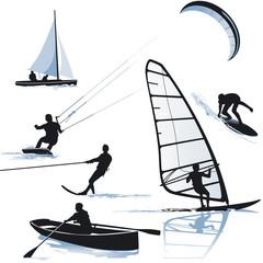 Wassersportarten