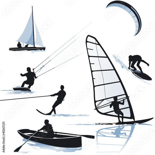 Fototapeta Wassersportarten