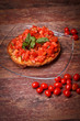 Frisella And Cherry Tomatoes