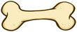 Cartoon Dog Bone
