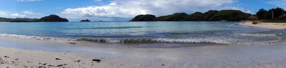 Beach rest pavillion in islands,Indonesia