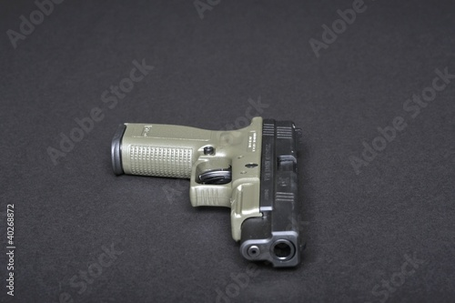 Handgun for marksmanship and personal defense
