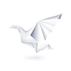 Paper dove, origami
