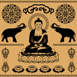 East Buddhist elements - 40270817