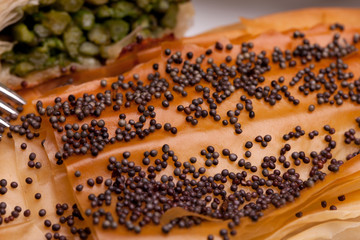 Closeup Of Crust With Poppy Seeds