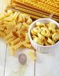 raw pasta and ravioli
