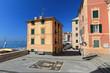Liguria - Sori, piazza della chiesa e lungomare