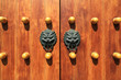 chinese traditional wooden door