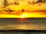 Fototapety beautiful sunset