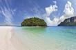 The round green island in Thailand
