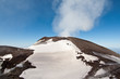 the crater of northeast - Etna
