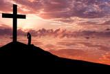 Christian background - Worshiping