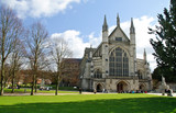Winchester cathedral in UK - 40280238