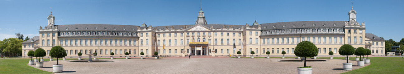 The castle of karlsruhe