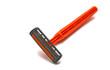 orange razor blades