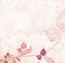 Romantic vintage floral background