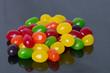 Jelly Beans on black