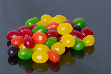 Jelly Beans on black