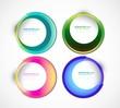 new Vector swirl set circle