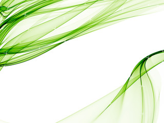 elegant  background with soft green designs