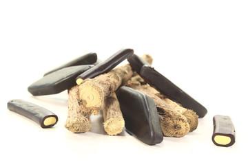 Süßholz mit Lakritze
