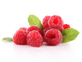 Fototapety isolated raspberry
