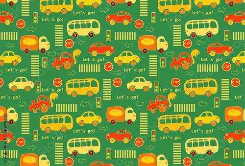 Foto op Plexiglas Op straat Transport.