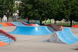 Fototapety empty skate park