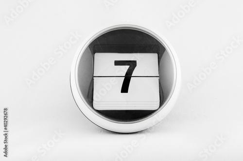 Kalendarz listkowy - 7