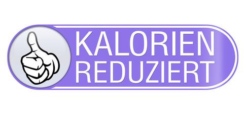 kalorienreduziert sticker aufkleber button