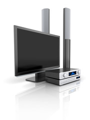 TV and audio system