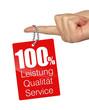 100% leistung qualität service