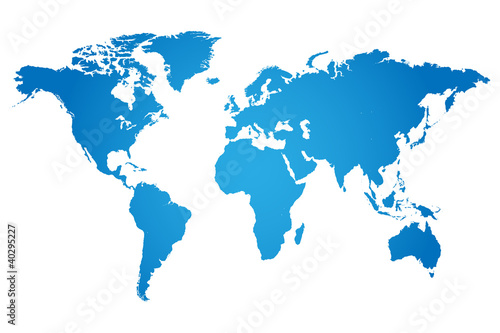 Weltkarte Illustration