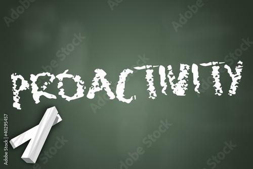 """Chalkboard """"Proactivity"""""""