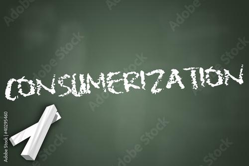 "Chalkboard ""Consumerization"""