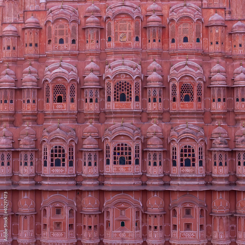 Palace of Winds, Hawa Mahal, Jaipur, Rajasthan, India.