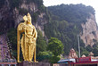 Murugan statue at the Batu Caves, Kuala Lumpur