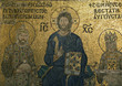 The Empress Zoe Mosaic. Christ Pantocrator, Emperor Constantine,