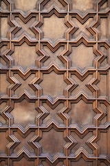 Patterns on door