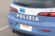 Car of the italian state police