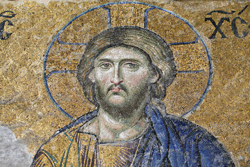Christ, The Deesis Mosaic