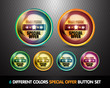 Colorful Special Offer 'Best Price' Button Set