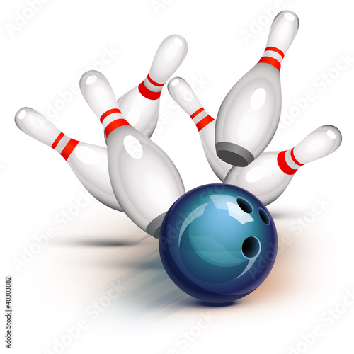 Bowling Game (front view) - 40303882