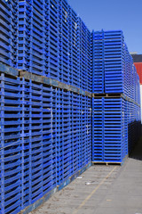 cajas de campo en  exterior de cooperativa