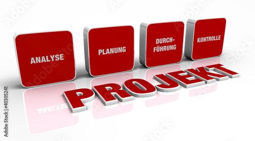 Text Konzept - 3D Projekt Rot 7