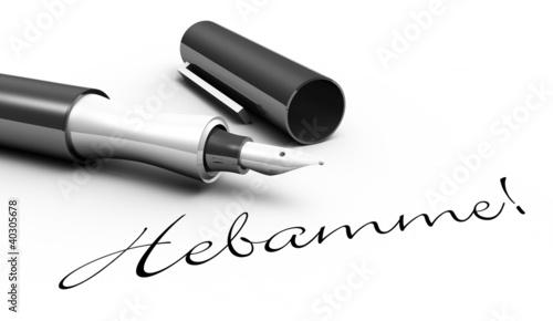 Hebamme! - Stift Konzept