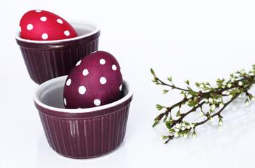 Getupfte Eier