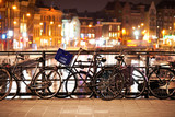 Fototapety Bikes in Amsterdam