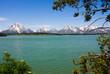 Jackson Lake in Grand Teton National Park, Wyoming.